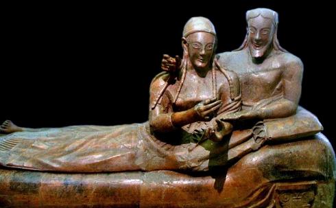 Banditaccia_Sarcofago_Degli_Sposi terracota los esposos etrusco