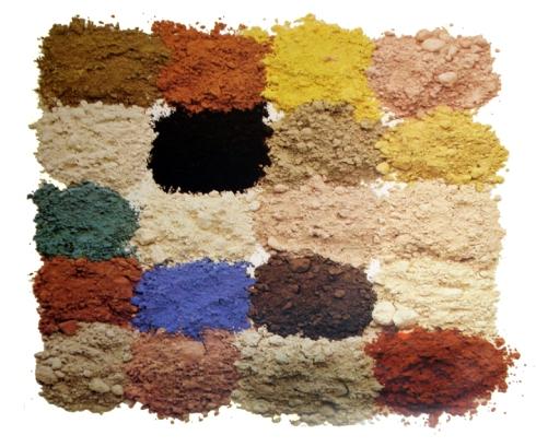 La cer mica principales t cnicas el pincel con lienzo for Oxidos para ceramica