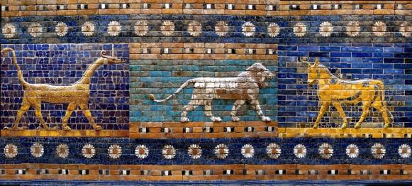 Porta_d'Ishtar_-_Lleons