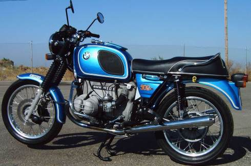 bmw R90-6 Monza Blue high