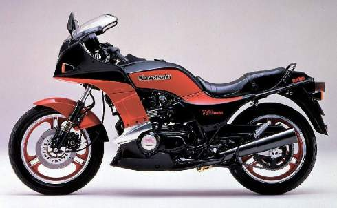 Kawasaki GPZ750 Turbo 4