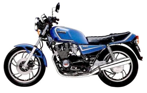 yamaha xj650 1983