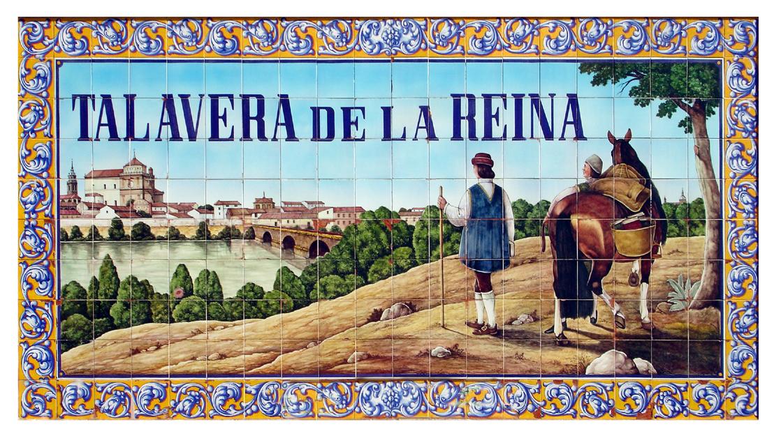 Talavera De La Reina La Ciudad De La Cerámica El Pincel Con Lienzo