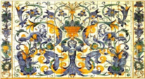Paterna panel-azulejos-s xviii valencia