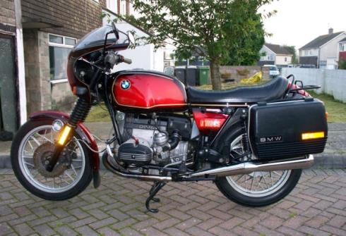 002 bmw R100CS