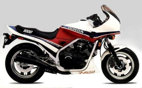 009 Honda VF1000F 1