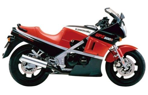 017 Kawasaki GPZ600R 85 ruedas 16 pulgadas