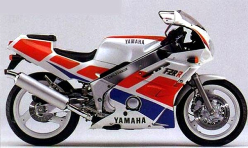027 Yamaha FZR400R 89 exup