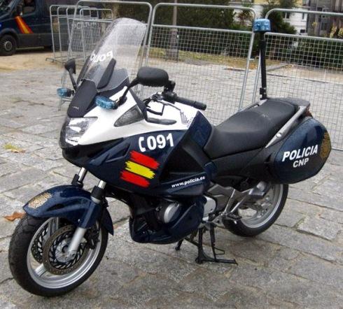 policia honda cnp050