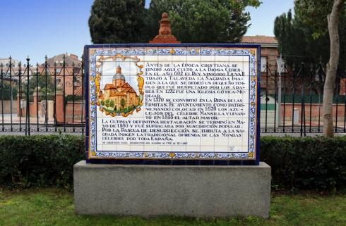 007 placa historia de la Basilica del prado