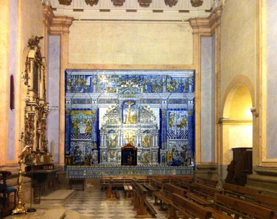 078 altar mayor panel