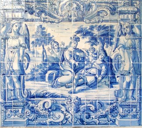 DSC06388 Panel azulejos Lisboa 1740