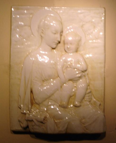 la virgen con el niño Ruiz de Luna 1 cuarto s xx