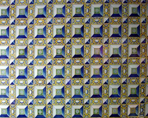 muestra de azulejeria