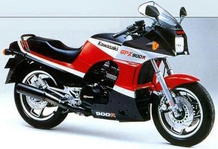 028 Kawasaki gpz 900 r