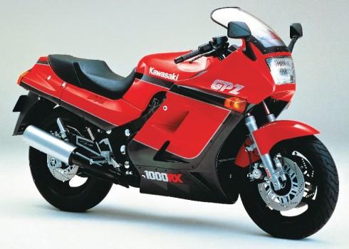 029 Kawasaki GPZ1000RX 86