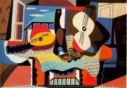 009-cubismo-picasso-mandolinayguitarra-1924